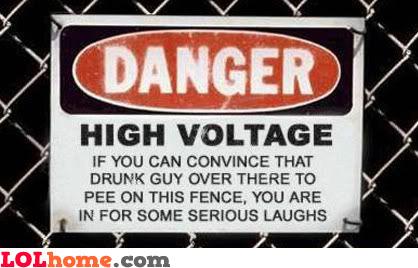 High voltage fun