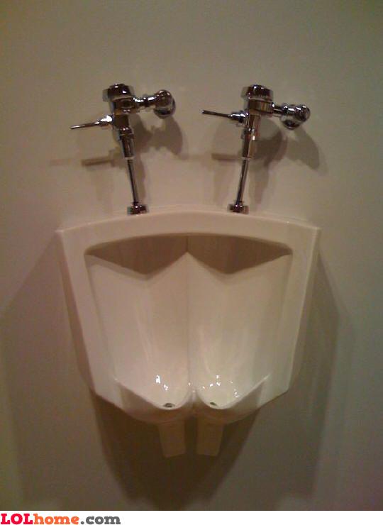 Gay urinal