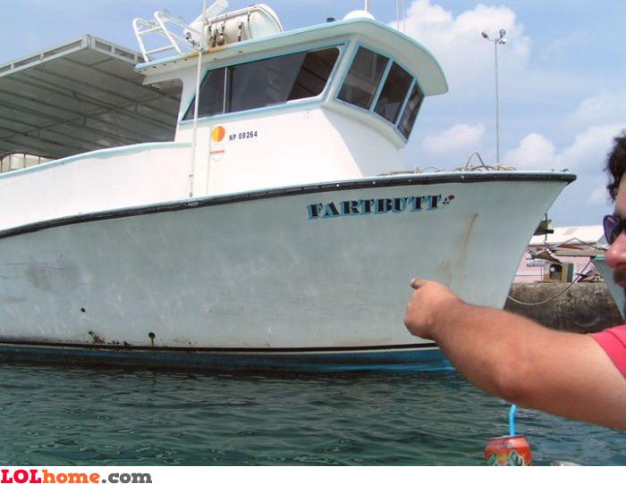 Fartbutt boat