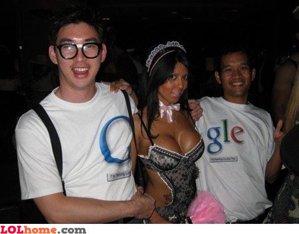 Google halloween costume