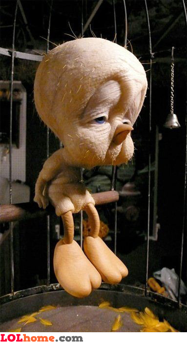 Featherless Tweety