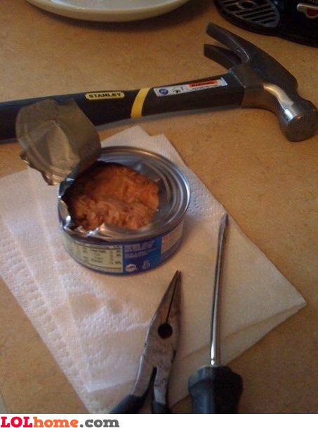 No can opener? No problem!