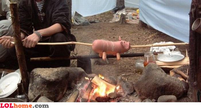 Fried pig
