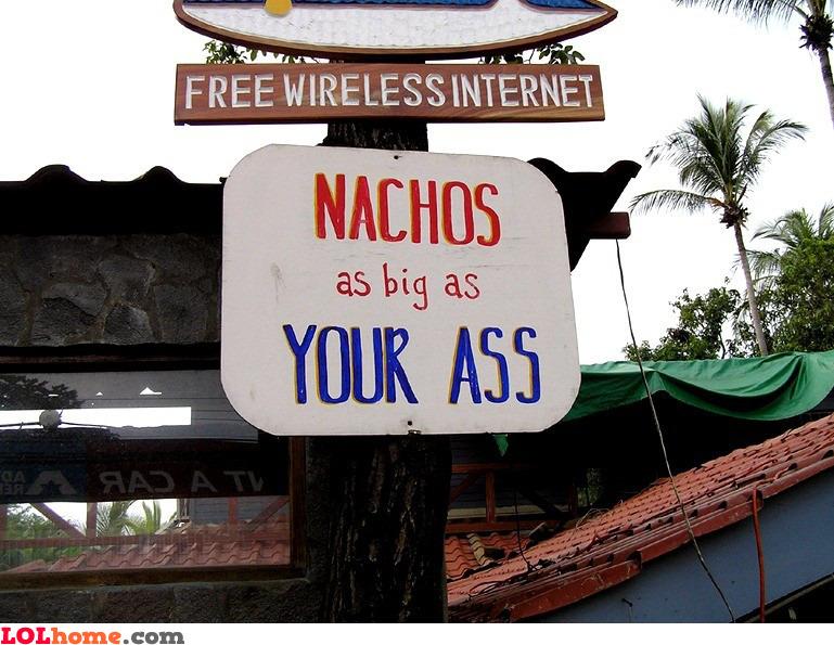 Really big nachos