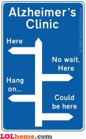 Alzheimer's clinic directions