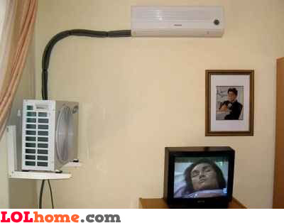 Setting up the A/C