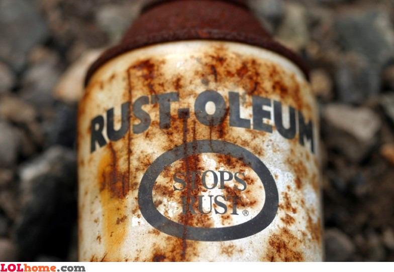 Stops rust