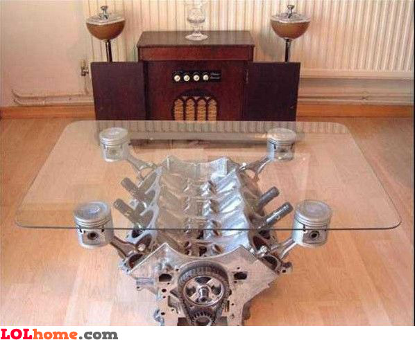 Fast Coffee Table Funny Pic