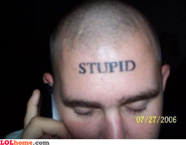 worst tattoos ever. Worst tattoo ever