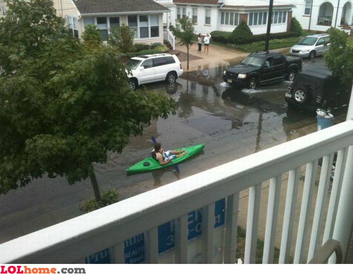 My canoe is great