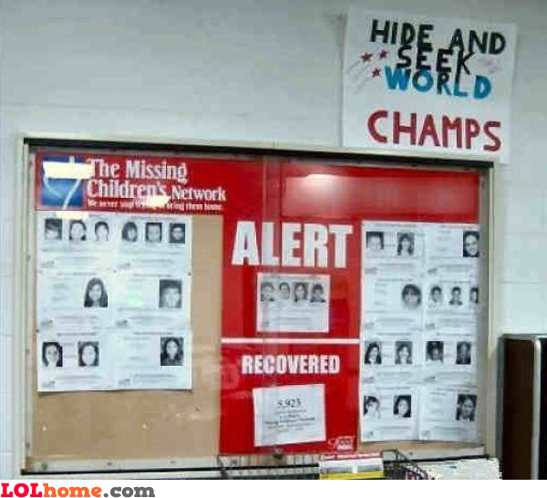 Hide and seek world champs