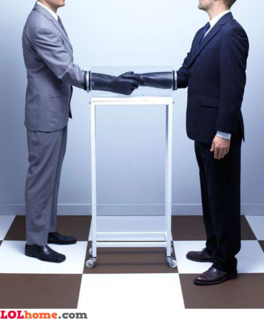 Safe handshake