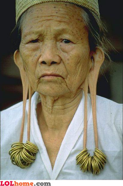 Sexy earrings