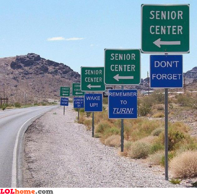 The senior center way