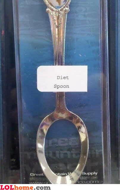 Diet spoon
