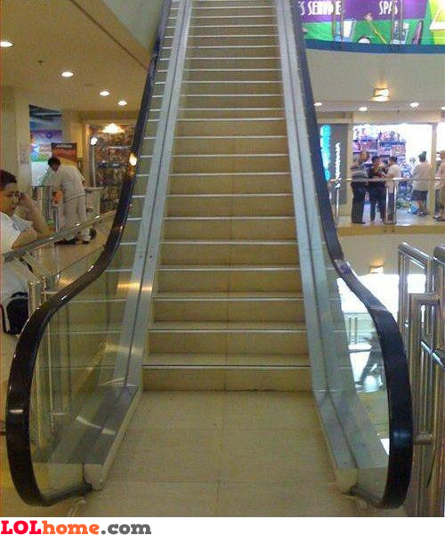 Fake Escalator