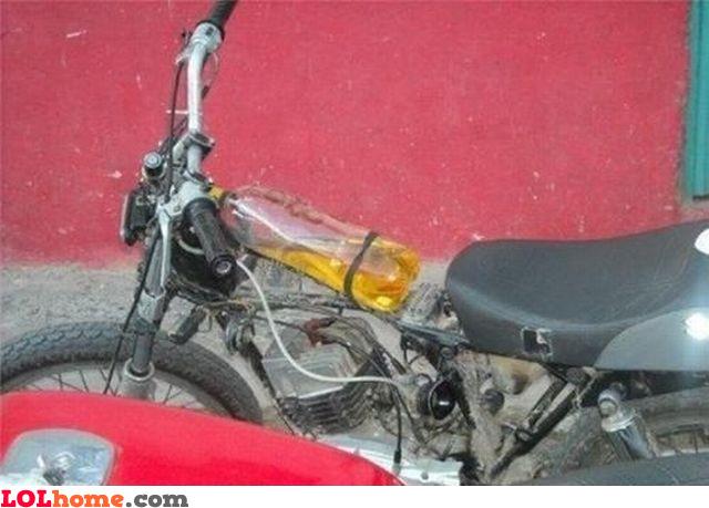The gas tank