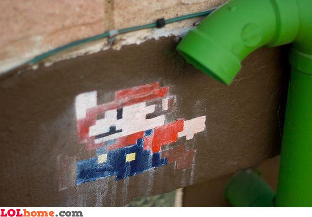 Mario' pipe