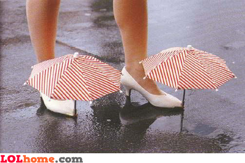 Foot umbrella