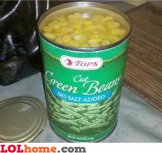 Green beans?