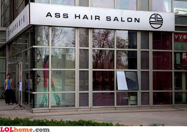 Ass hair saloon