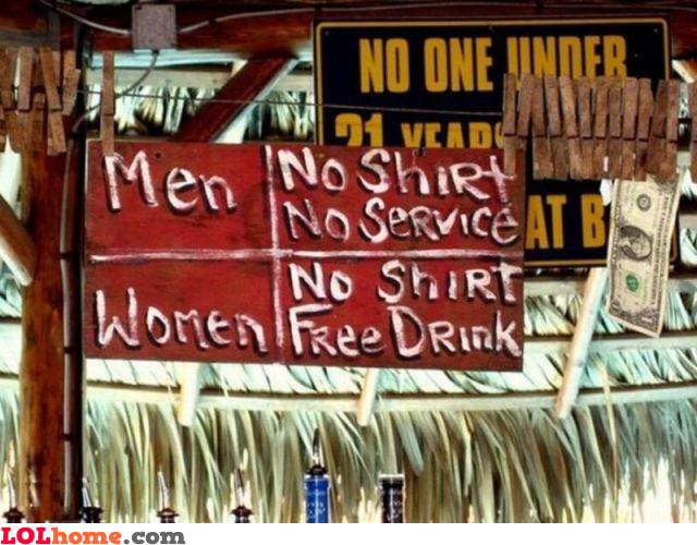 Service discrimination