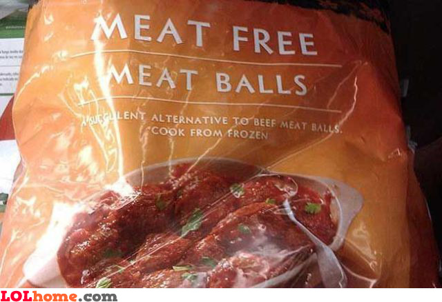Meat free meat balls