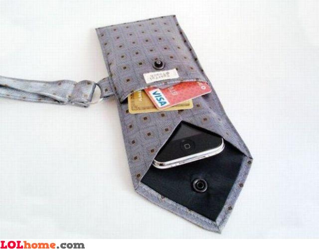 Tie wallet