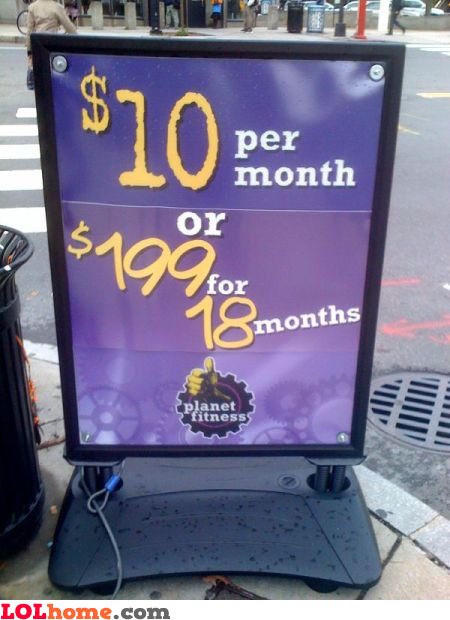 18 months discount