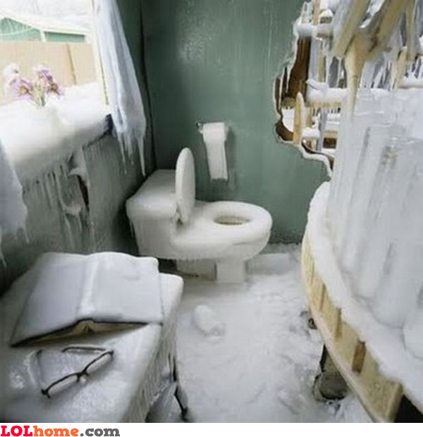 Ice bathroom