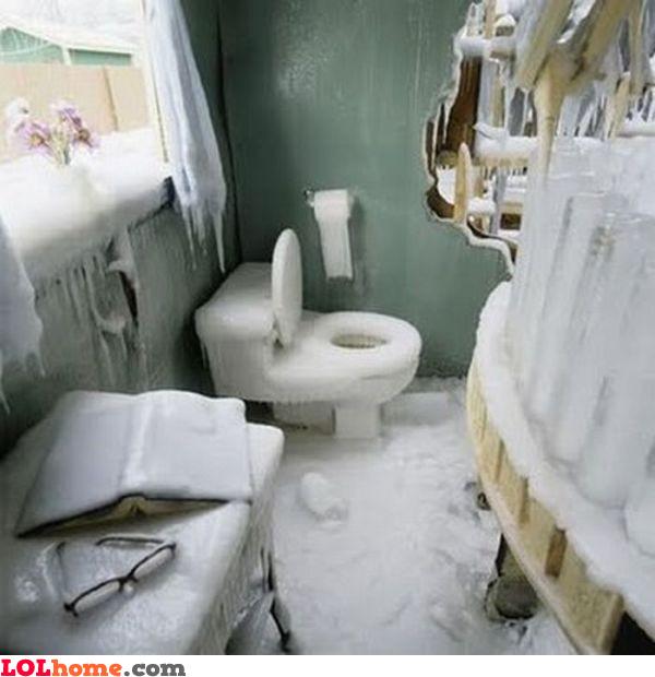 Ice bathroom