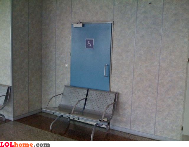 Handicapped toilet