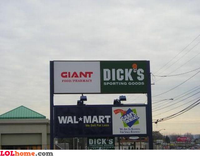 Giant Dick's