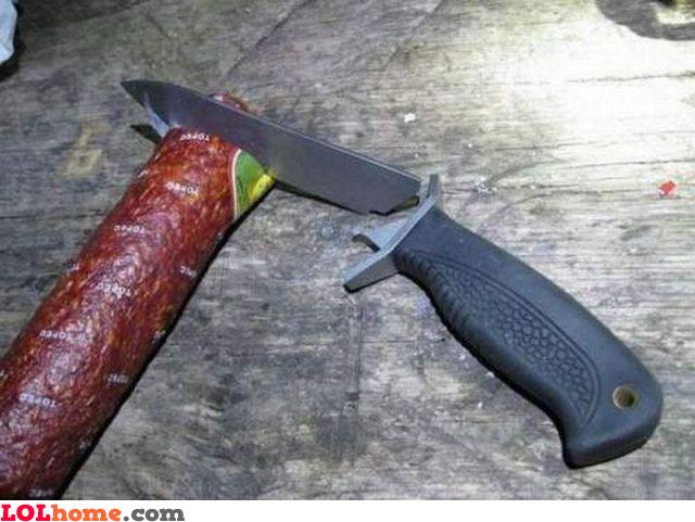 The hardest sausage