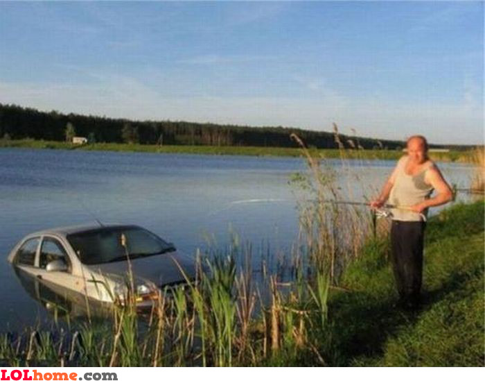 Car fishing
