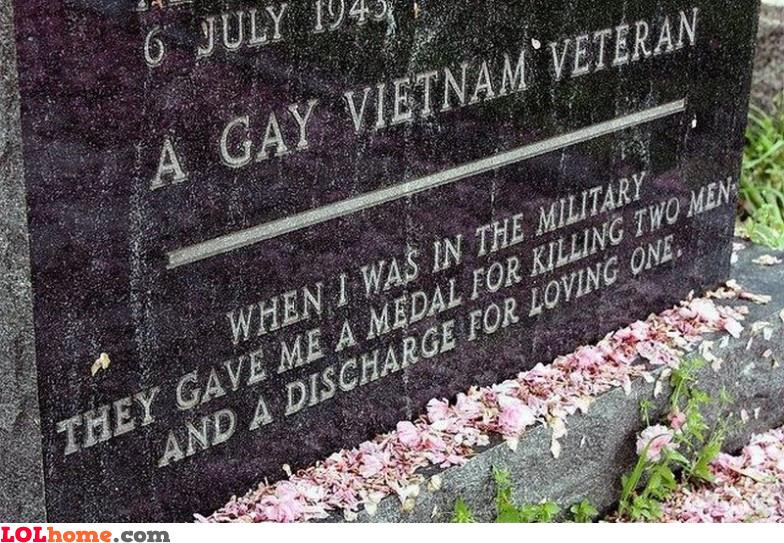 A gay Vietnam veteran