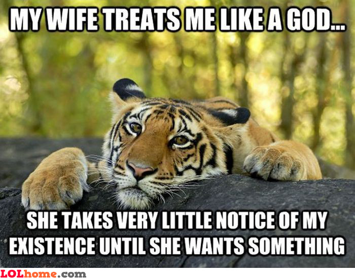 The God treatment