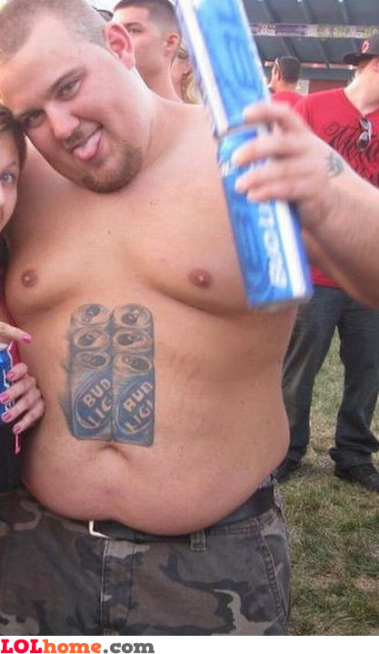 Check my six pack