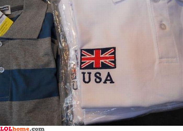 Flag mismatch