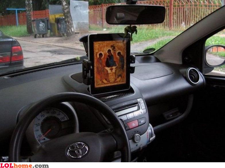 iPad will protect me