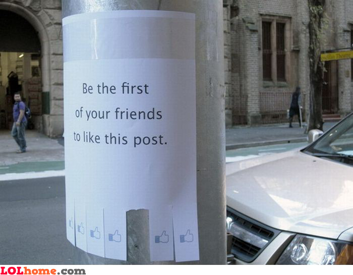 Like this post