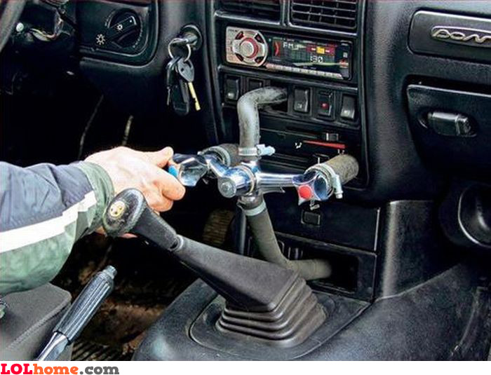 Car faucet