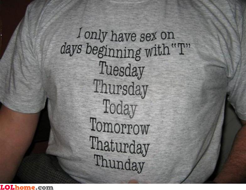 A lot of sex