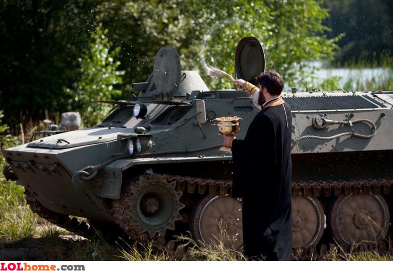 Tank sanctification