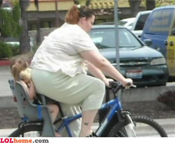 Mommy's fat ass