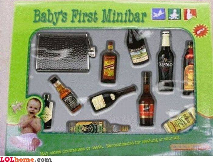 Baby's first minibar
