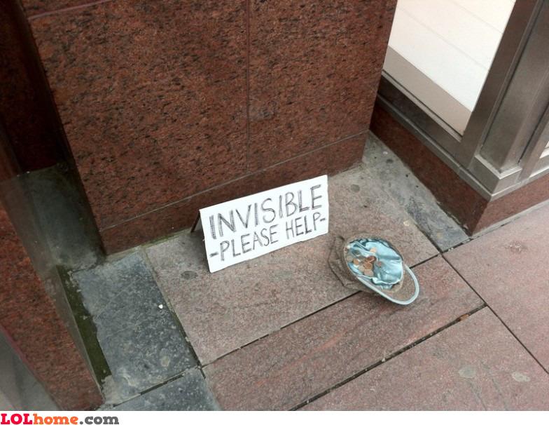 I'm invisible