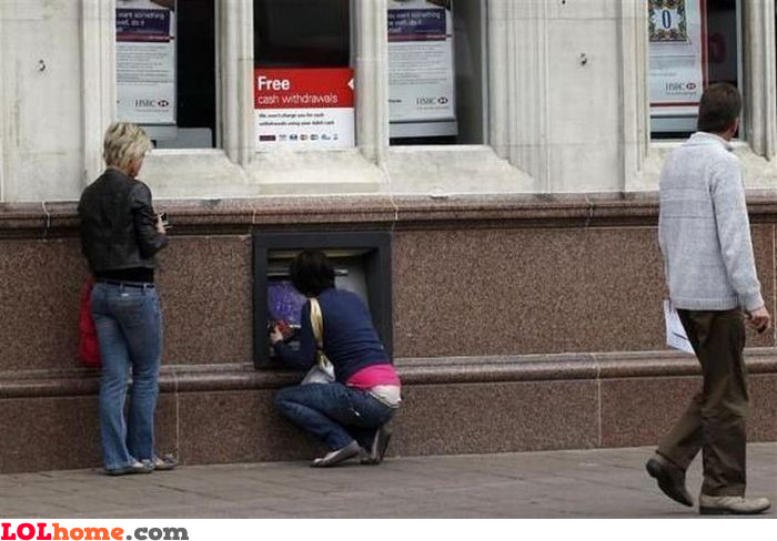 ATM for short people