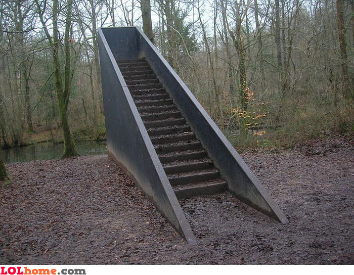 Stairway to nothing