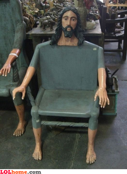 Jesus chair